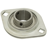 "1-1/4"" 2 Bolt Stamped Steel Flange Bearing"