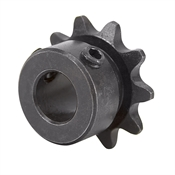 "10 Tooth 1/2"" Bore 35 Pitch Roller Chain Sprocket"