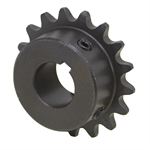 "10 Tooth 1/2"" Bore 35 Pitch Roller Chain Sprocket 35BS10H-1/2"