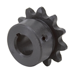 "11 Tooth 1/2"" Bore 35 Pitch Roller Chain Sprocket"