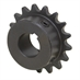 "21 Tooth 1/2"" Bore 35 Pitch Roller Chain Sprocket 35BS21H-1/2"