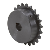 "22 Tooth 1/2"" Bore 35 Pitch Roller Chain Sprocket"