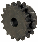 "DOUBLE SPROCKET 80P 24T 1"" UNFINISHED BORE"