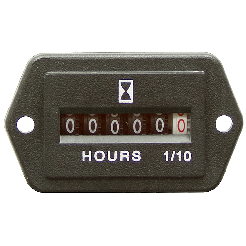 Dc Volt Hour Meter : Volt dc hour meter rectangular meters gauges