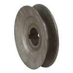 "3.5"" Diameter One Groove Pulley 7/8"" Bore"