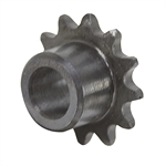 "12 Tooth 3/8"" Bore 25 Pitch Roller Chain Sprocket w/o Set screw"
