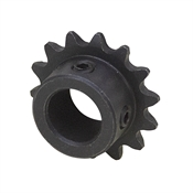 "9 Tooth 1/4"" Bore 25 Pitch Roller Chain Sprocket 25BS09-1/4"