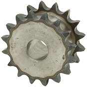 "16T Unfinished 1"" Bore 50P Double Single Sprocket"