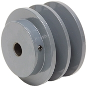 2.75 OD 1/2 Bore 2 Groove Pulley
