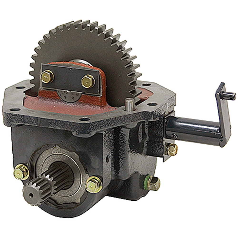 Tractor Pto Gearbox : Mid mount pto gearbox for mf to v tractor