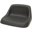 110 Deluxe Low-Back Black Seat