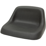 110 Deluxe Low-Back Black Seat Black Talon 110000BK
