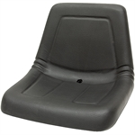 115 Deluxe High-Back Seat Black Talon 115000BK
