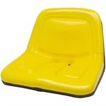 135 Deluxe High-Back Yellow Seat Black Talon 135001YE