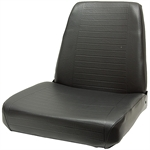 320 Steel Pan Black Seat Black Talon 320000BK