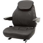 440 High-Back Cordura Fabric Black Seat