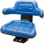 510 Universal Tractor Adj Suspension Blue Seat