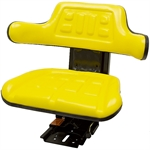 510 Universal Tractor Adj Suspension Yellow Seat Black Talon 510000YE