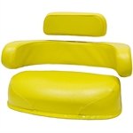 550 John Deere 3-Piece Yellow Cushion Set