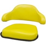555 John Deere 2-Pc Yellow Cushion Set