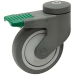 "4.75""x1"" Swivel Stem Caster w/Swivel Lock"
