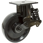 8x2 Rigid Plate Caster w/Shock Absorber