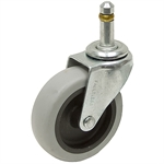 3x13/16 Grip Ring Swivel Stem Caster Dyna Tred II Gray