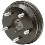 "5 Bolt Wheel Hub 1-1/4"" Tapered w/Brake Drum"