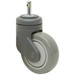 4x1-1/4 Grip Ring Swivel Stem Caster