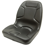 530 Replacement Kubota Seat Black Talon 530000BK-SGL
