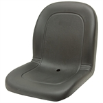120 Black Deluxe Ultra- High Back Seat Black Talon 120000BK