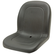 120 Black Deluxe Ultra- High Back Seat