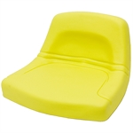 150 Yellow Low Back Pan Seat Black Talon 150000YE