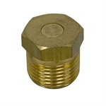 "3/8"" NPT Brass Gear Box Reducer Breather Vent WWE HDRBPBRASS325"