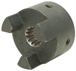 "5/8"" 9 Tooth Splined L-090 Jaw Coupling Half"