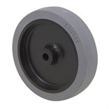 4x15/16 Grey Thermoplastic Rubber Wheel