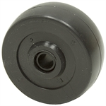 2 X 13/16 SOLID RUBBER WHEEL
