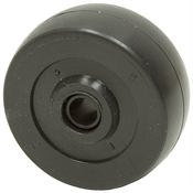2x13/16 Solid Rubber Wheel