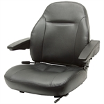 440 Premium High Back Seat w/Hd Vinyl For ZTR's Black Talon 440002BK