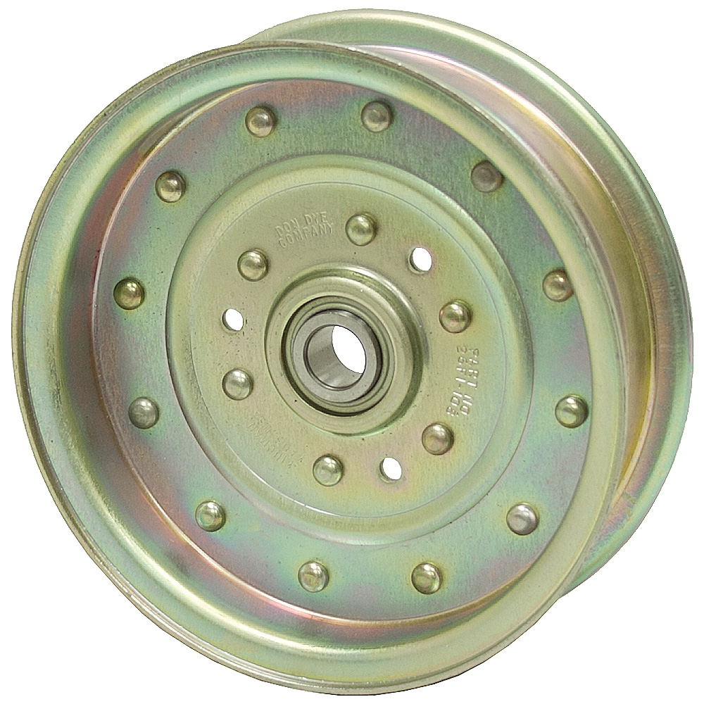 Idler Pulley : Flat idler pulley pulleys power