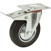 5x1-1/2 Swivel Caster w/Brake And Swivel Lock