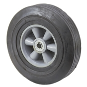 "10"" x 2-7/8"" Solid Rubber Wheel with Tread Blemishes"