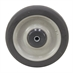 "5"" x 1"" Thermoplastic Rubber Wheel with Threadguards - Alternate 1"