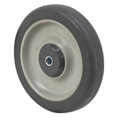 "5"" x 1"" Thermoplastic Rubber Wheel with Threadguards"