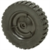 7-3/4x2 Rubber Tire On Plastic Wheel