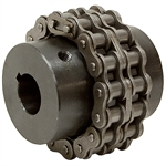 73 HP Double Roller Chain Coupler 40P 16T