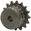 "5/8"" Smooth 50 Pitch 16 Tooth Chain Coupler Half"