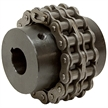 109 HP Double Roller Chain Coupler 50P 16T