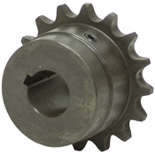 "1"" Bore 60 Pitch 18 Tooth Chain Coupler Half"