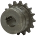 "1-1/2"" Bore 60 Pitch 18 Tooth Chain Coupler Half"